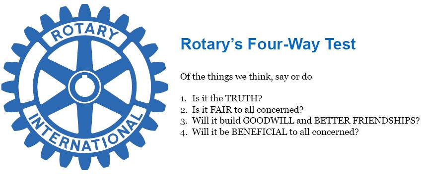 Rotary's Four Way Test