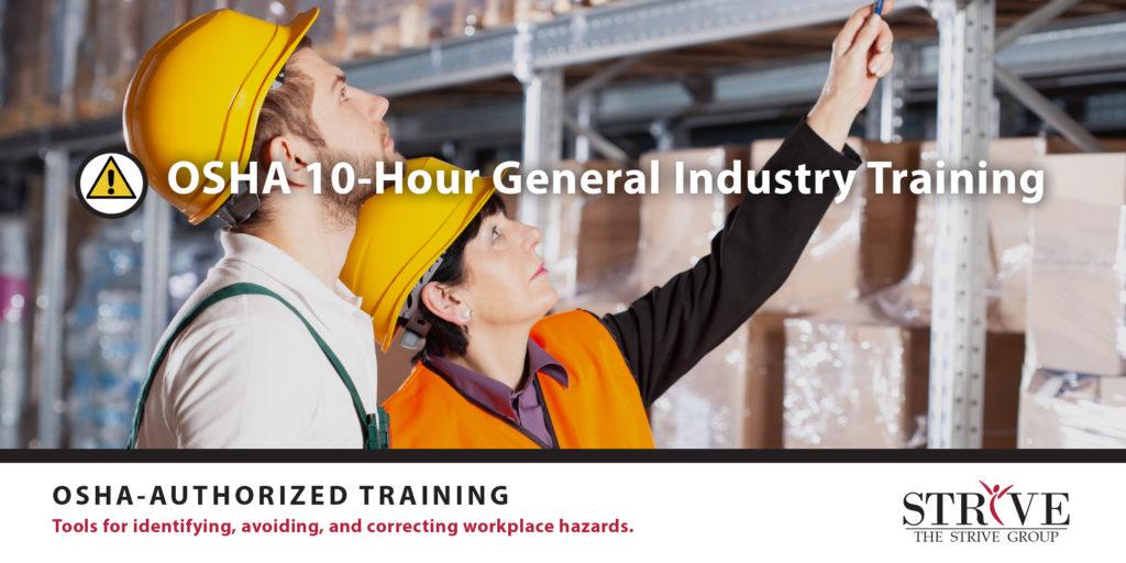 OSHA 10-Hour General Industry Training