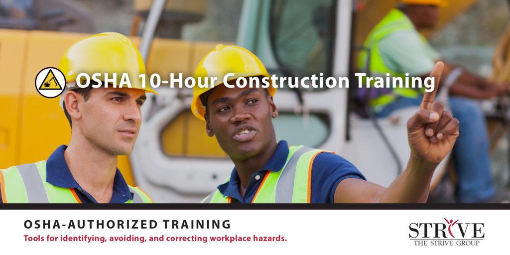 OSHA 10-Hour Construction Training
